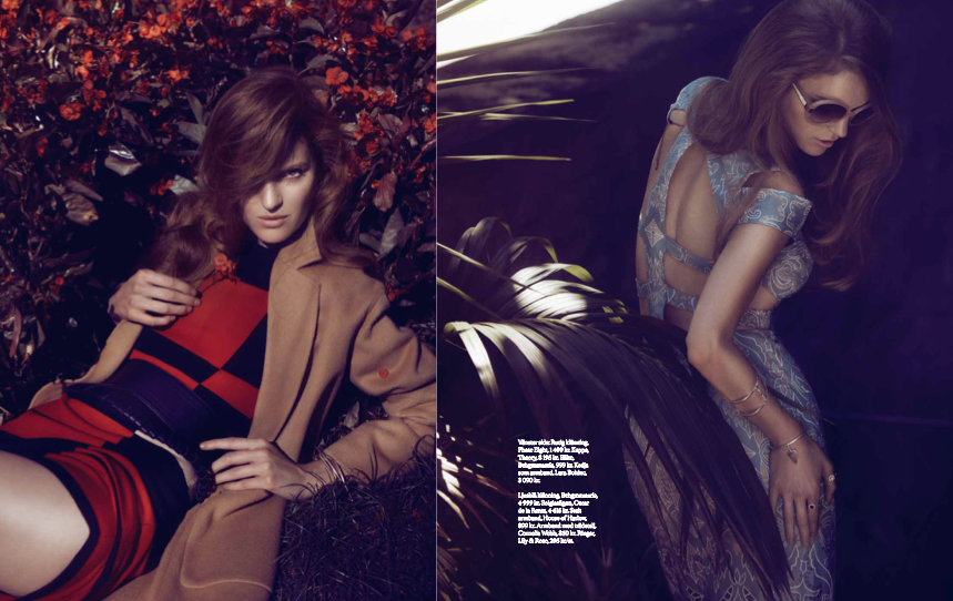 editorial photography fashion magazine luxury clothing brands laura jouve kawa h pour production barcelona