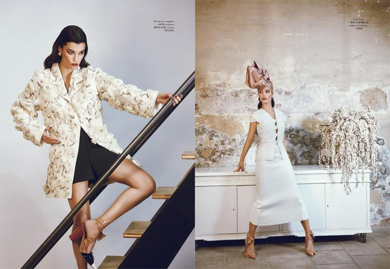 l'officiel kazakhstan dior french fashion editorial photography fashion industry laura jouve fashion producer barcelona