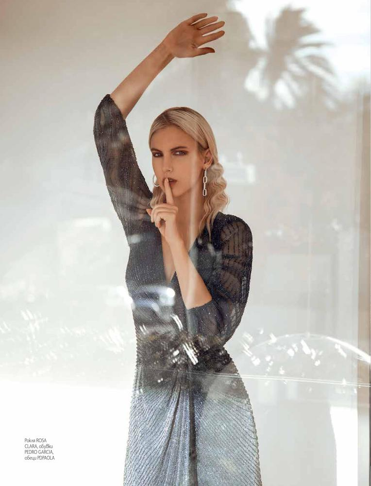 elle bulgaria february issue laura jouve fashion photography editorial barcelona